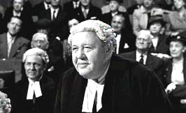 """Charles Laughton in Billy Wilder's film """"Witness for the Prosecution"""""""