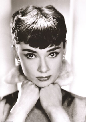 audrey hepburn posters. Black Bedroom Furniture Sets. Home Design Ideas
