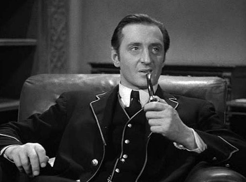 basil rathbone the raven